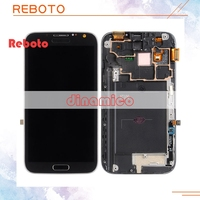 Reboto For Samsung Note 2 II N7100 LCD Screen Display With Touch Digitizer With Home Button
