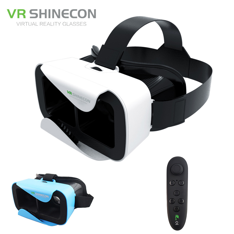 <font><b>VR</b></font> Shinecon 3.0 3D Headset <font><b>Google</b></font> <font><b>Glass</b></font> Cardboard 360 Virtual Reality <font><b>Glasses</b></font> <font><b>Head</b></font> <font><b>Mount</b></font> <font><b>vr</b></font> <font><b>box</b></font> Helmet for 4.5-6' Phone