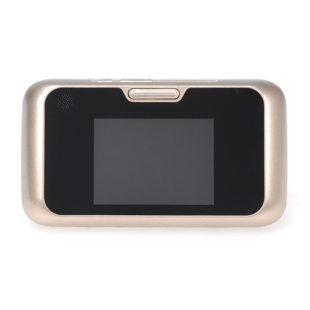 QA01 New 3.5 inch smart HD home security camera video visual electronic cat eye doorbell mogood intelligent doorbell camera visual doorbell cat eye type 3 screen with 8g tf memory card