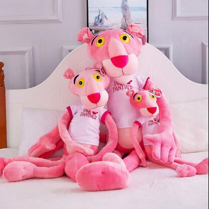 WYZHY Pink Naughty Leopard Doll Plush Toy Cartoon Anime Cute Birthday Gift for Girls 180CM in Stuffed Plush Animals from Toys Hobbies