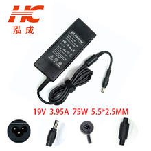 75W 19V 3.95ALaptop AC Adapter Power Charger For Toshiba M801 M805 M806 M8 M510 M600 M900 P700 P800 R700 R800 R830 Rated 5