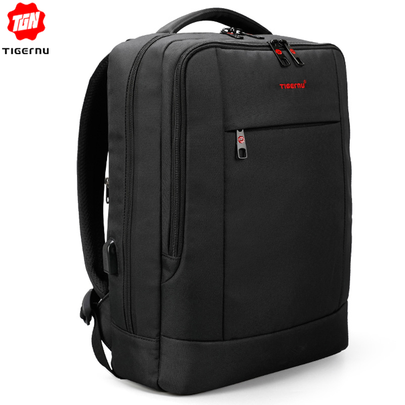 Tigernu Usb Charger15.6 Inch Laptop Backpack Women Men Slim Laptop Backpacks Bags Men Casual Daily School Bag For Teenagers