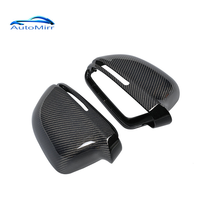 Kibowear for Audi A4 A5 B8 8K A6 C6 4F Carbon Fiber Side Wing Mirror Covers A8 D3 Q3 caps replacement trim 2008 2009 накладки на пороги audi a8 d3 2002 2009