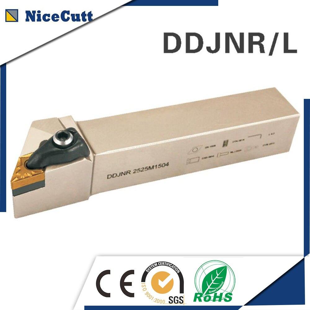 DDJNR/L2020K1504 Nicecutt External Turning Tool Holder For DNMG Insert Lathe Tool Holder