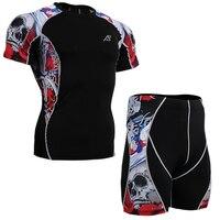 גמישות גוף דחיסת בסיס שכבה sport pro מכנסי אימון ורוד גולגלות חליפת ריצה רכיבה על אופניים חליפת ספיידרמן