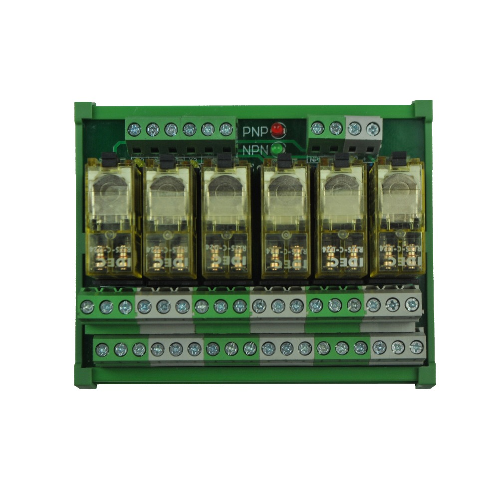 6 Channel DPDT DIN Rail Mount IDEC RJ2S Interface Relay Module-in Relays  from Home Improvement on Aliexpress.com | Alibaba Group