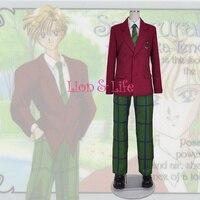 SuperS Sailor Moon Michiru Kaiou / Hotaru Tomoe Sailor Uranus mugen gakuen boys uniform cosplay dress halloween costumes
