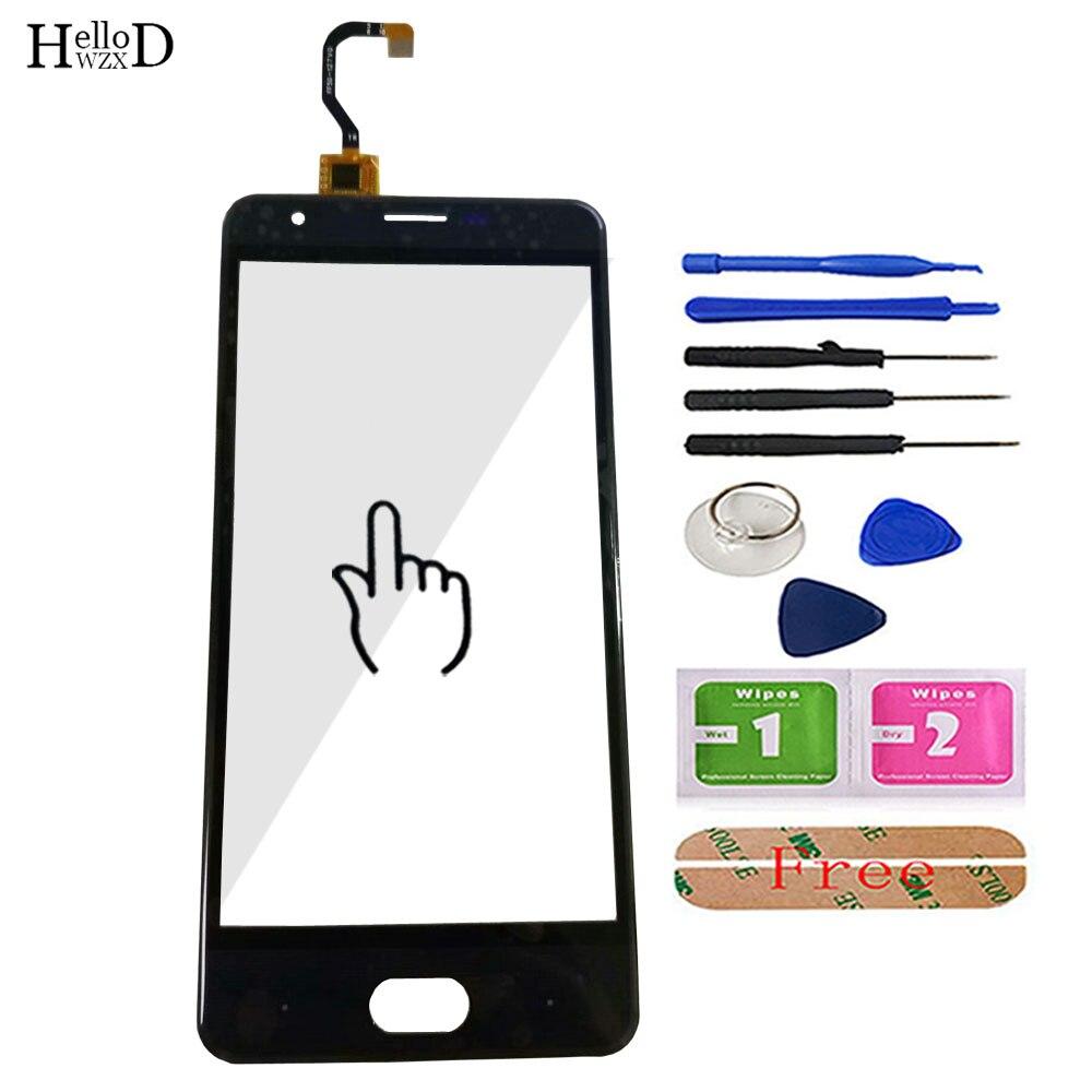 5.0 ''Telefono Mobile Anteriore di Tocco di Vetro Per Ulefone U008 Pro Touch Screen Glass Digitizer Lens Pannello Sensore di Strumenti di Trasporto adesivo