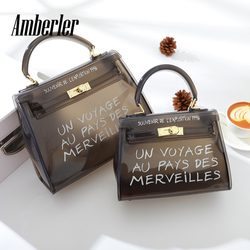 Amberler Fashion PVC Women Handbags High Quality Ladies Shoulder Bag Small Female Crossbody Messenger Bags For Women Tote Bags
