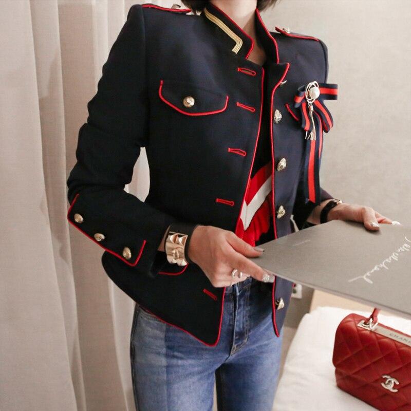 Arrivée mode automne hiver Outwear veste fraîche femmes épais chaud travail Style tendance manteau OL confortable tempérament extérieur