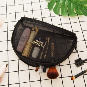Image 4 - Concise Toilets Crystal Box Black Pink Grid Makeup Cosmetic Organizer Mini  Size Trumpeter Portable Travel Accept Bag Package