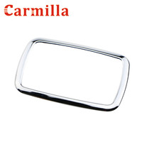 Car ABS Chrome Gear Panel Frame Sticker For Ford Ecosport AT TYPE 2013 2014 2015 2016