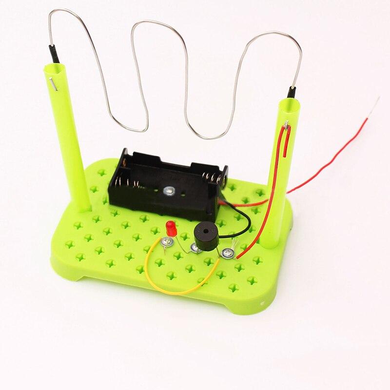 צעצוע מעגל דגם ילדי ילדי אביזרי תחביבים מדע חינוכי אלקטרוניקה ערכת סט חג המולד
