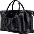 High-Capacity Folding Dot  Travel Bags Handbag Luggage Travel Bag Women  New Fashion Nylon Light Duffle Bag Brand Handbag X063