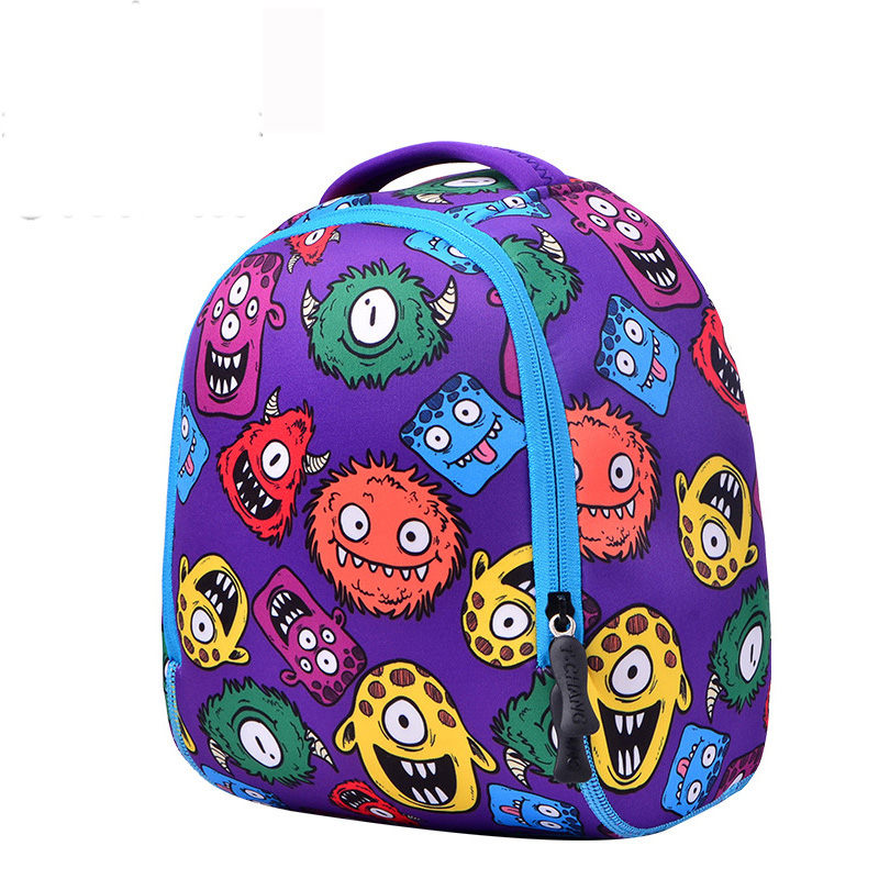 Quality Waterproof School Bags Blue cooler Monsters Kids Backpack Cartoon Animal Children School Bags For Boys Toddler Baby Bag free shipping 20pcs lot monsters university cartoon drawstring backpack bag children kids bag 34x27cm schoobag party gift