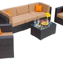 De gama alta de bali vintage de mimbre utilizado hotel muebles al aire libre