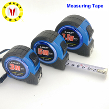 C-Mart Tools 3/5/7.5M Mn Steel Measure Tape Double-sided Steel Tapes British Metric Type Tapeline Wood Working Tools