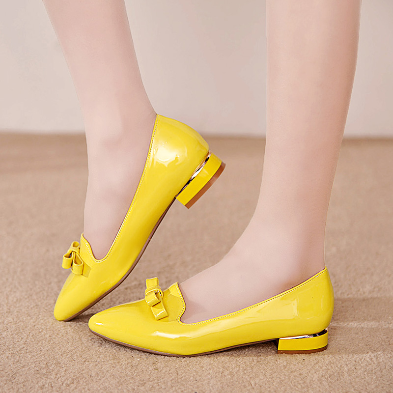 Compare Prices on Low Heel Pumps Yellow- Online Shopping/Buy Low ...