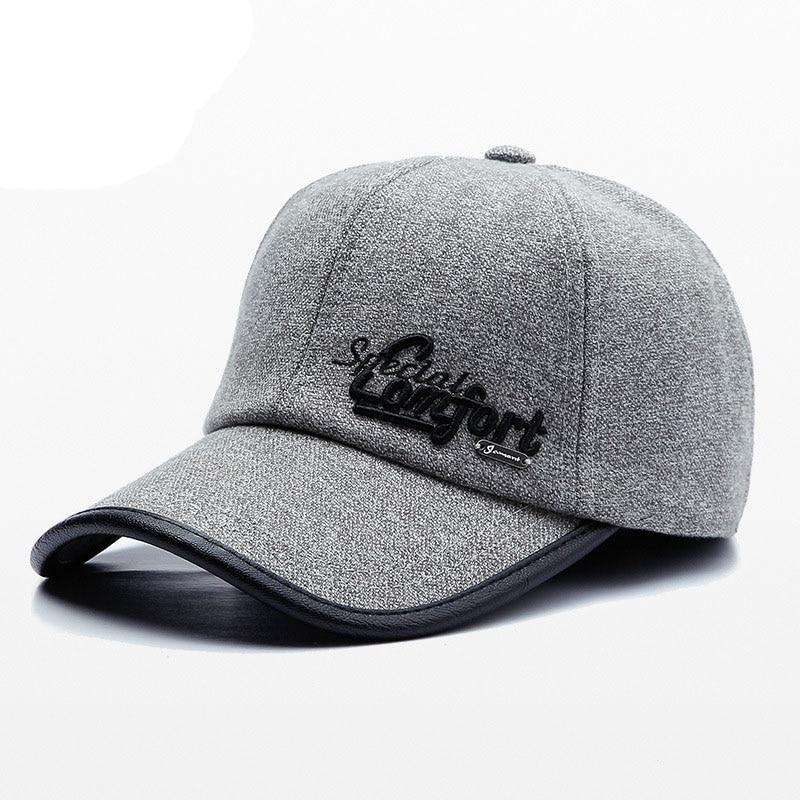 JAMONT mujer Otoño Invierno mujeres ajustable gorras gorra de béisbol para  hombres gris azul negro marrón sombrero 2019 sombreros de modaUSD 6.65 piece 5d67bb9bd36