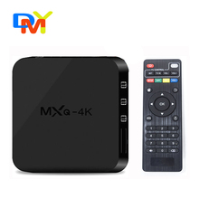 MXQ-4K RK3229 Quad Core Android TV Box 1G/8G WiFi HDMI2.0 4 K H.265 10Bit KODI Inteligente TV Box Google Play Store