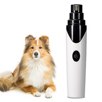 QQQPET Rechargable Pet Nail Grinder Pet Electric Nail Polisher Automatic Nail Clipper Cat Dog Automatic Nail Polisher