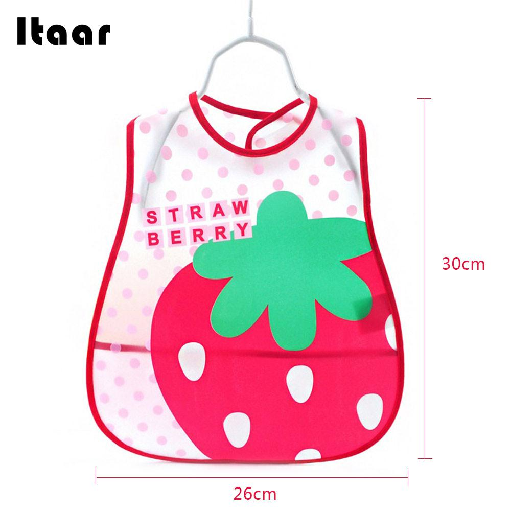 6 Pattern Newborn Waterproof Bib Saliva Burp Cloth Adjustable Infant Waterproof Bib Apron Cute Baby Waterproof Bib Lunch