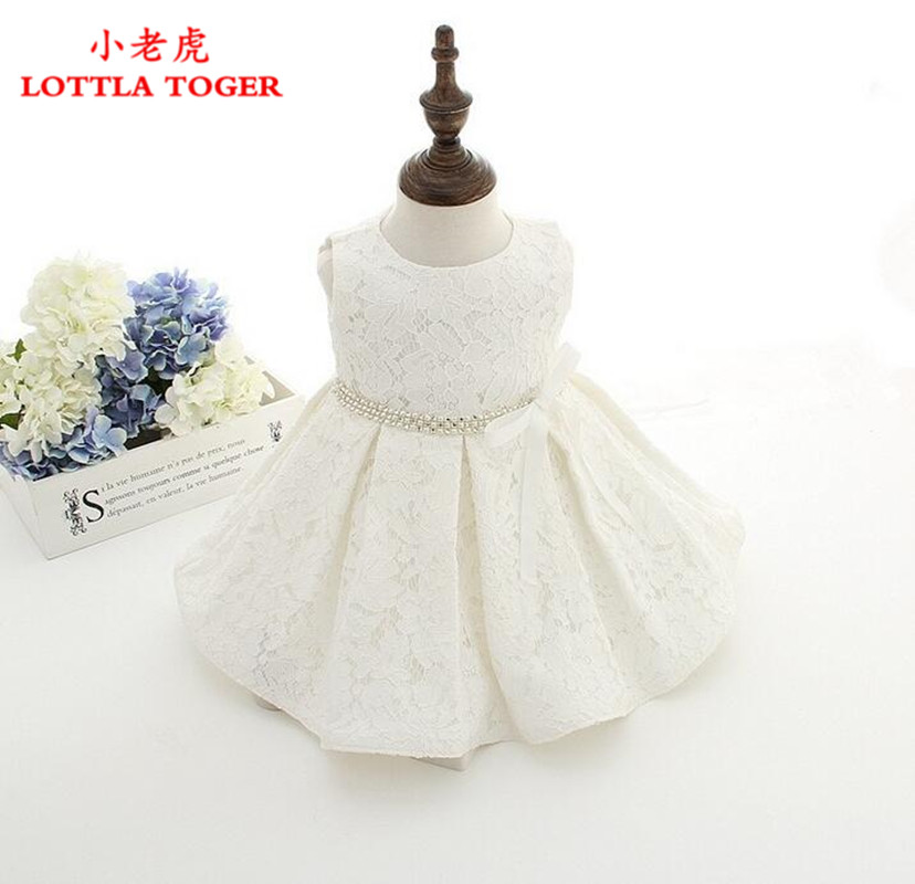 High Quality Baby Girl Dress Baptism Dress for Girl Infant 1 Year Birthday Dress for Baby Girl Chirstening Dress for Infant+hat
