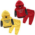 Carta bebé trajes de otoño/invierno 2015 en la nueva ropa de los niños masculinos de los niños desgaste de los niños chaqueta de lana pantalones tz-2606
