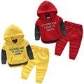 Carta do bebê ternos outono/inverno 2015 em novo roupa das crianças desgaste das crianças das crianças do sexo masculino casaco de lã calças tz-2606