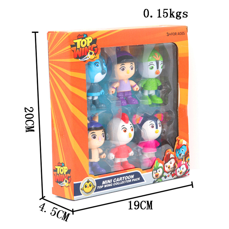 Jouet Top Wing 6-Personnage Collection Pack