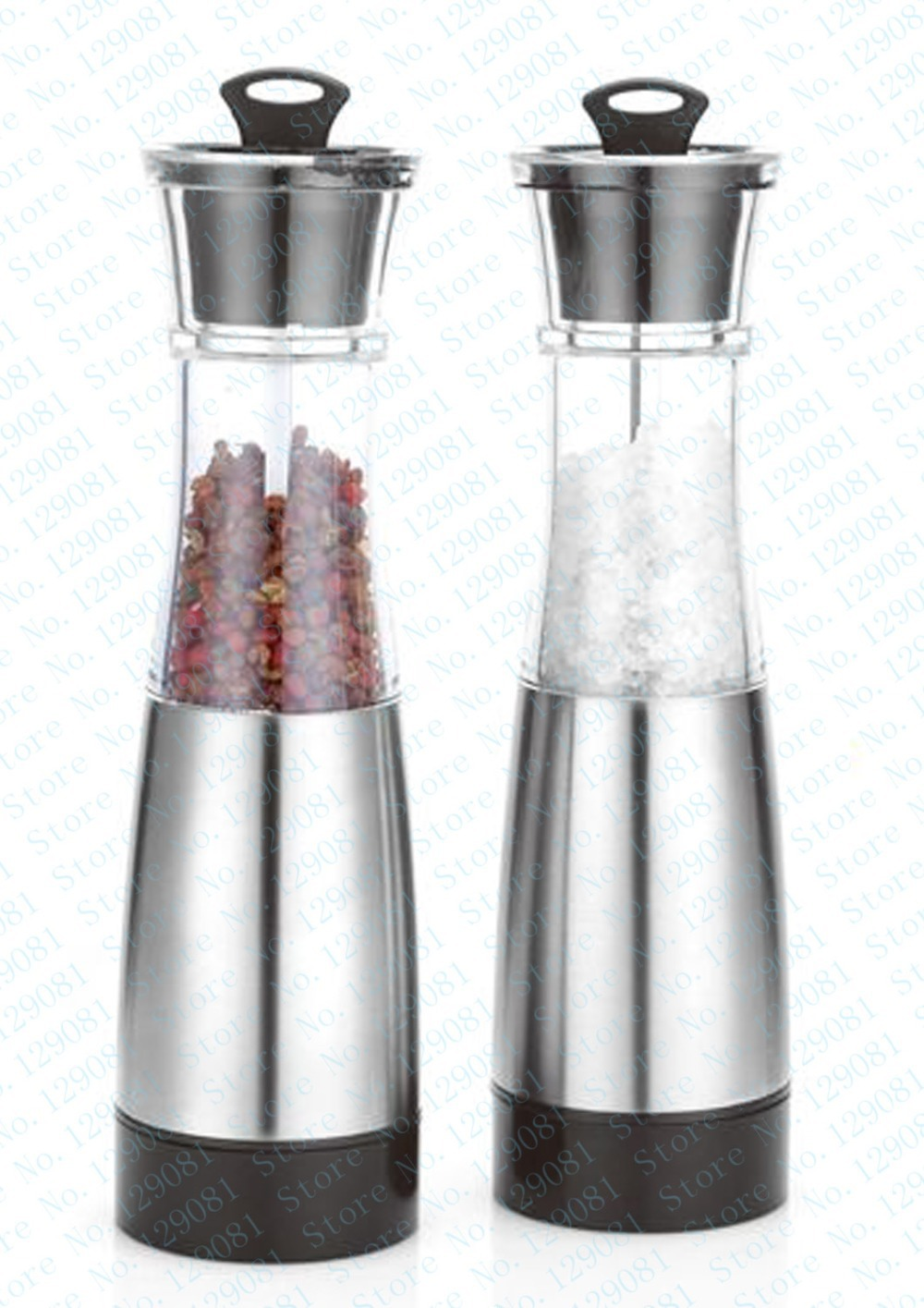 new stainless steel electric pepper mill & sea salt - Kitchen, Dining and Bar - Photo 2