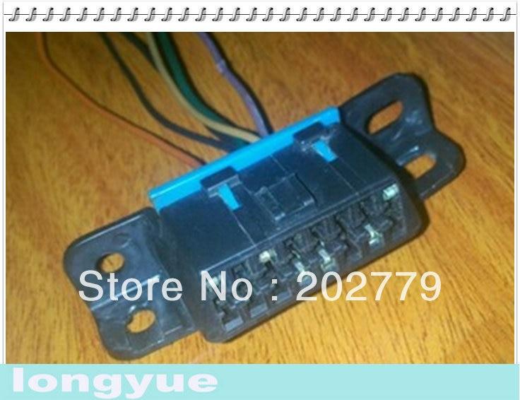 US $13.37 |longyue 2pcs 96 Newer OBD2 OBDII ALDL Wiring Harness Connector on