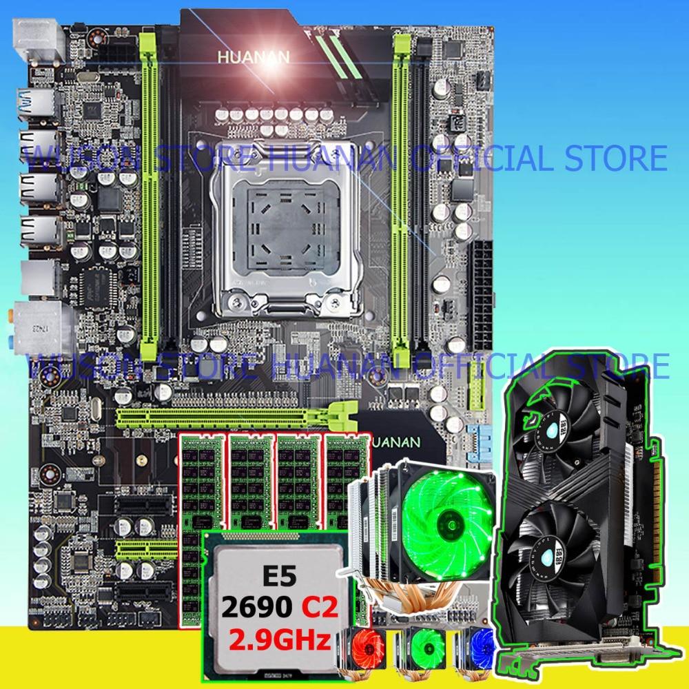 Building PC HUANAN X79 motherboard CPU Xeon E5 2690 C2 2.9GHz RAM 16G(4*4G) DDR3 RECC vi ...
