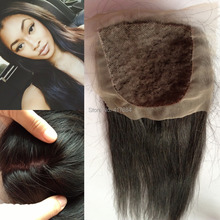 4*4 silky straight virgin indian human hair soft touch non processed silk base closure