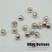 Free shipping Button clasp factory direct wholesale monopoly Pock quality rose gold striped shirt plastic buckle sewing supplies