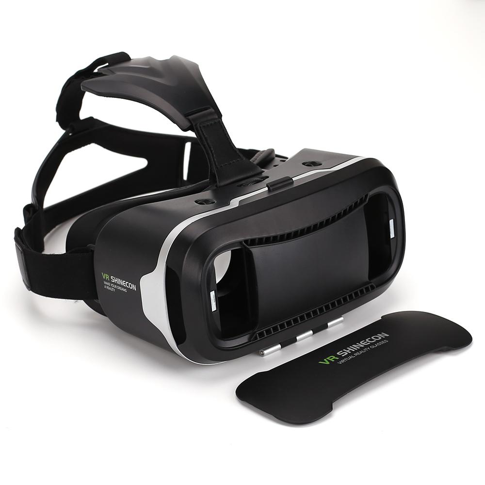 Original Shinecon VR Box 2.0 Google Cardboard Virtual Reality Smartphone Goggles Glasses Headset With Mocute Bluetooth Gamepad 9