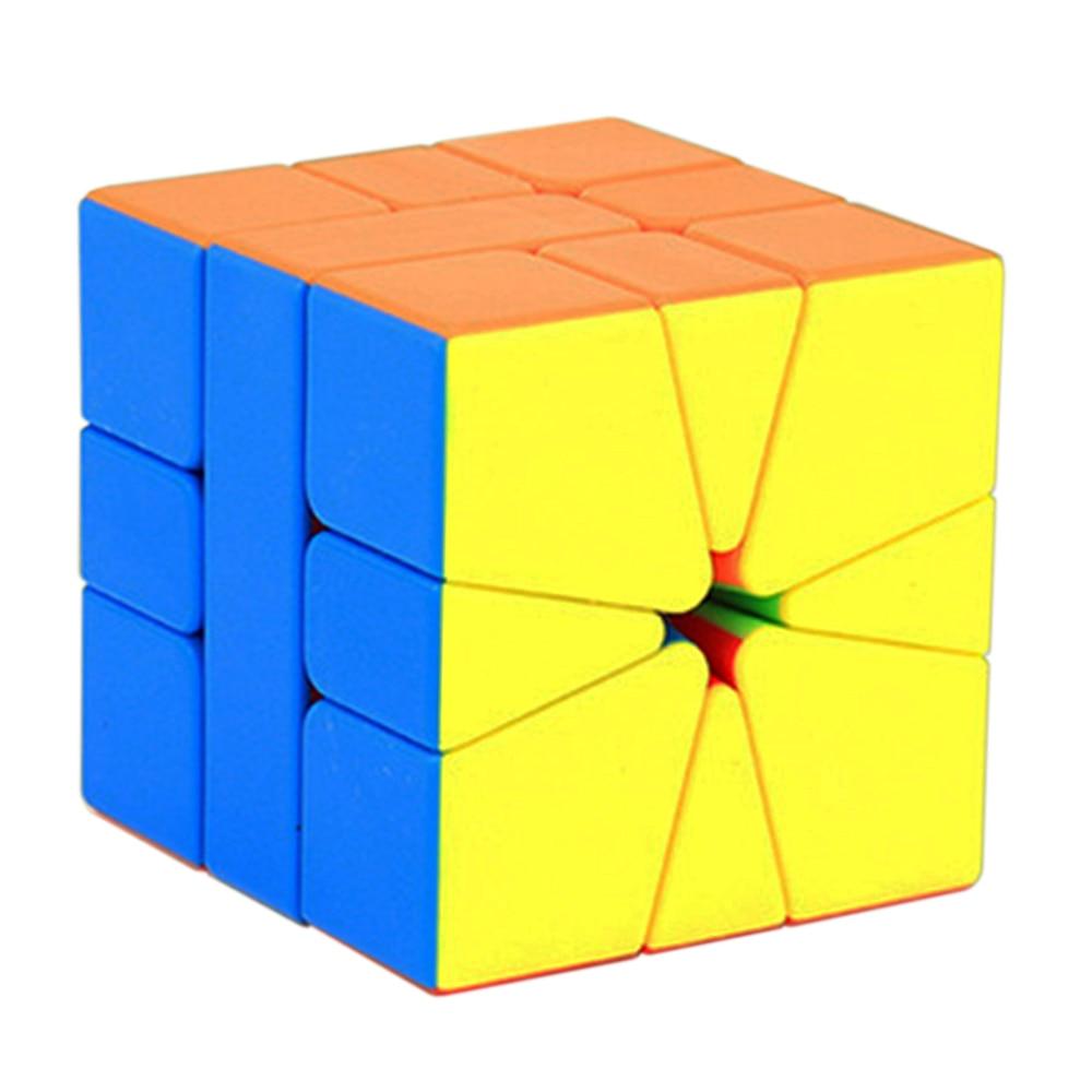 High Quality MoYu's Puzzle Cube 3*3 MFSQ1 Square-1 Magic Cube Toy for Children Classroom Mofangjiaoshi Cube 3 Layers 5.4CM