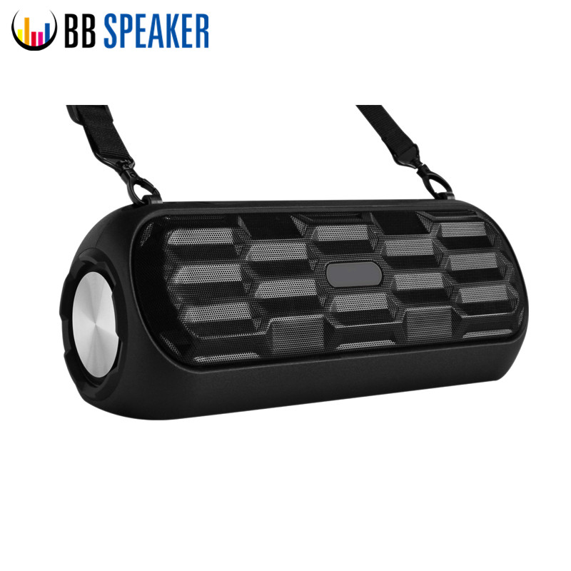 BB SPEAKER Bluetooth Portable Speaker Stereo Sound Outdoor Handsfree call Speaker Support TF card U disk FM radio music player n74u portable media player speaker magaphone w tf usb fm microphone black