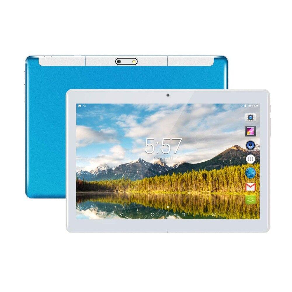 10 pouces tablette pc Android tablette GPS 4 GB RAM 64 GB/128 GB ROM appel téléphonique 3G 4G Bluetooth/Wifi double coeur PC double carte SIM tablette PC