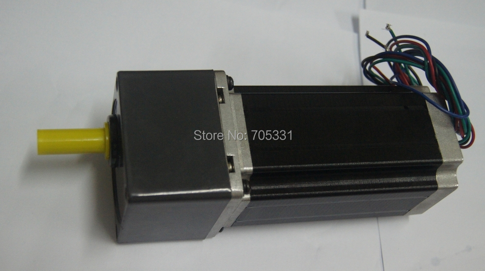 цена на 4 lead Nema23 Jingbo Stepper Geared Motor J57HB115-03-G3 with 1:3 Gear Ratio motor length 115mm