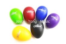 Alice A041SE Colourful Sound Eggs Shaker Maracas Percussion Free Shipping