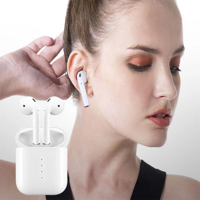 Original New Handsfree Headphones i10 tws i9s i11TWS Bluetooth Earphone  3