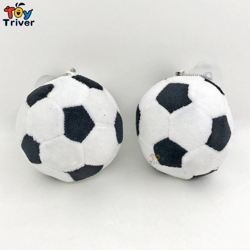 7.5cm Soccer Ball Plush Sport Toy World Football Fan Memorable Souvenir Stuffed Doll Kids Boy Boyfriend Birthday Gift Triver
