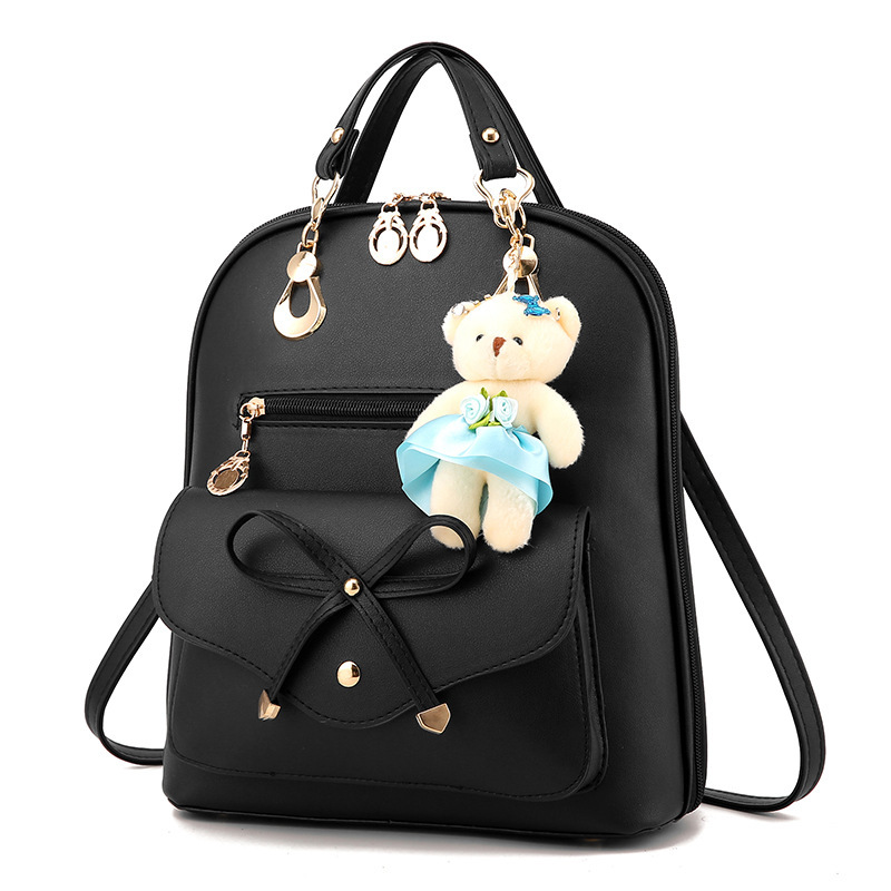 fashion women backpack multifunctional backpack ladies leather shoulder bag female Small Backpack Teenager Girls travel backpack