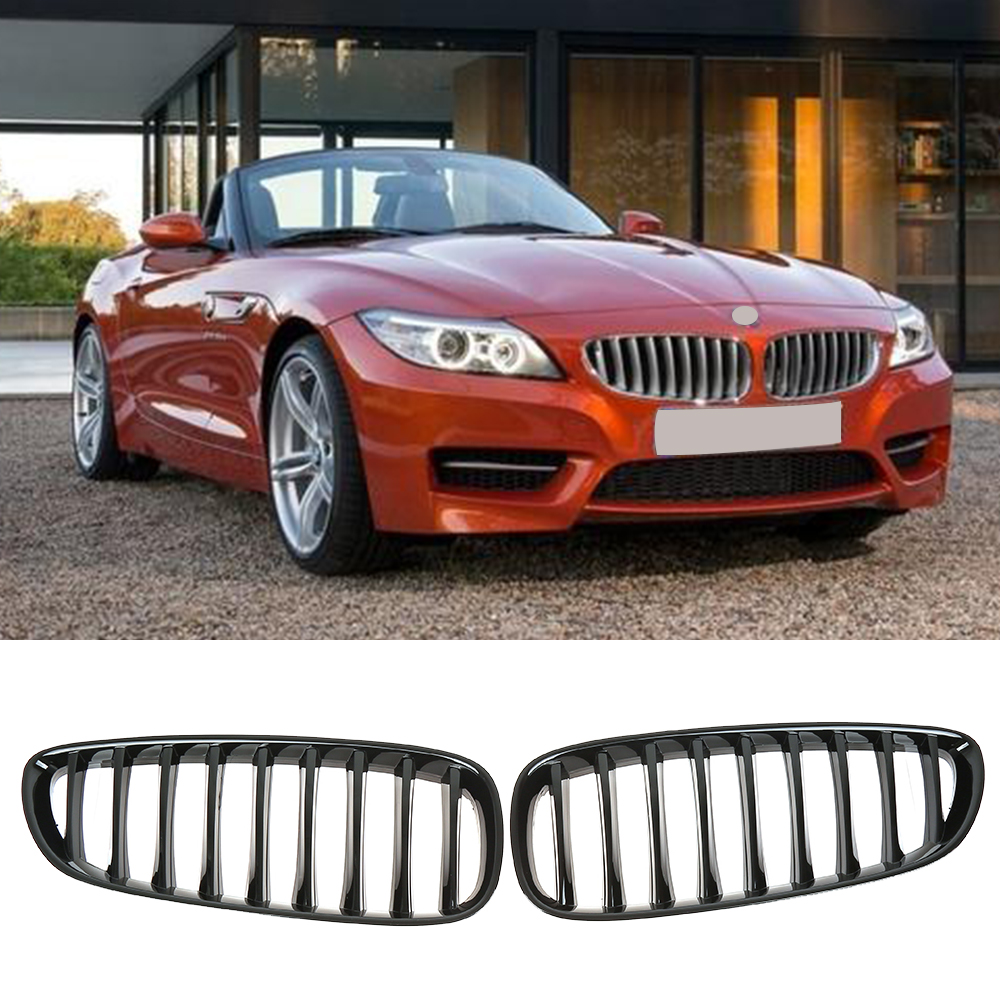 Bmw Z4 35is Price: Glossy Black Car Styling Front Bumper Kidney Grill For BMW