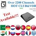 Europa IPTV GOTiT M96X + Power IPTV Android 6.0 2G/8G S905X 4 K Ultra Árabe Francés alemania Países Bajos Portugal Italiano Adultos xxx