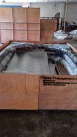 Szanghaj Chiny fabryka produkcji kute Żelazne drzwi wysokiej jakości eksport do USA, model hench-ad16