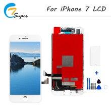 Дешевые 1 шт. хорошее 3D Класс AAA Замена ЖК-дисплей 4.7 дюймов для Apple iPhone 7 ЖК-дисплей Дисплей Сенсорный экран планшета Ассамблеи