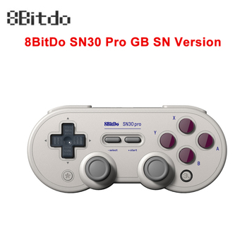 8Bitdo SN30 Pro G SN Wireless Bluetooth Gampad Wire Vibration Controller With Joystick For Nintendo Switch Windows Android MacOS фото