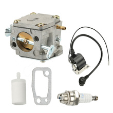 Carburetor Ignition Coil For HUSQVARNA 61 266 268 272 272XP Chainsaw Gasket Parts Accessories